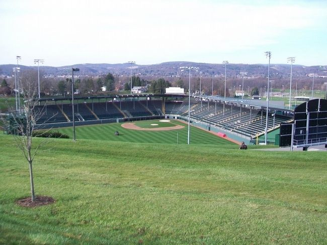 Howard J. Lamade Stadium at Little League International image. Click for full size.