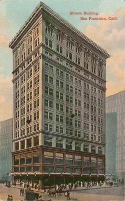 Shreve Building, San Francisco, Calif. image. Click for full size.