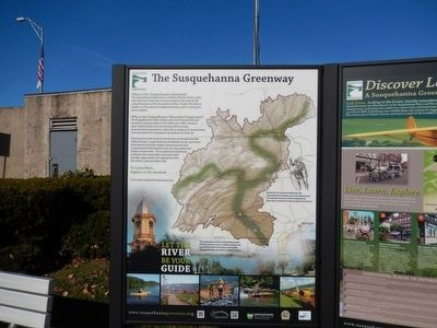 The Susquehanna Greenway Marker image. Click for full size.