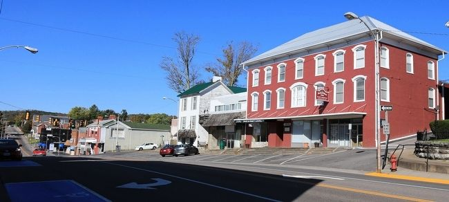 Main Street, Lebanon, Virginia image. Click for full size.