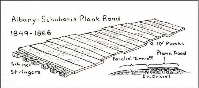 Plank Road Sketch image. Click for full size.