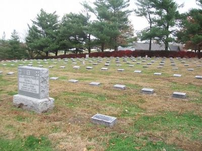 Confederate Home Cemetery image. Click for full size.