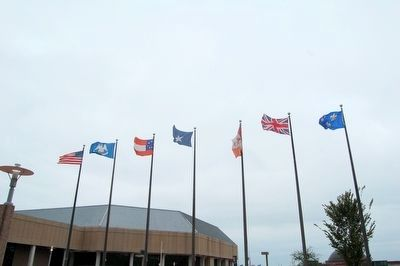 Seven Flags waving image. Click for full size.