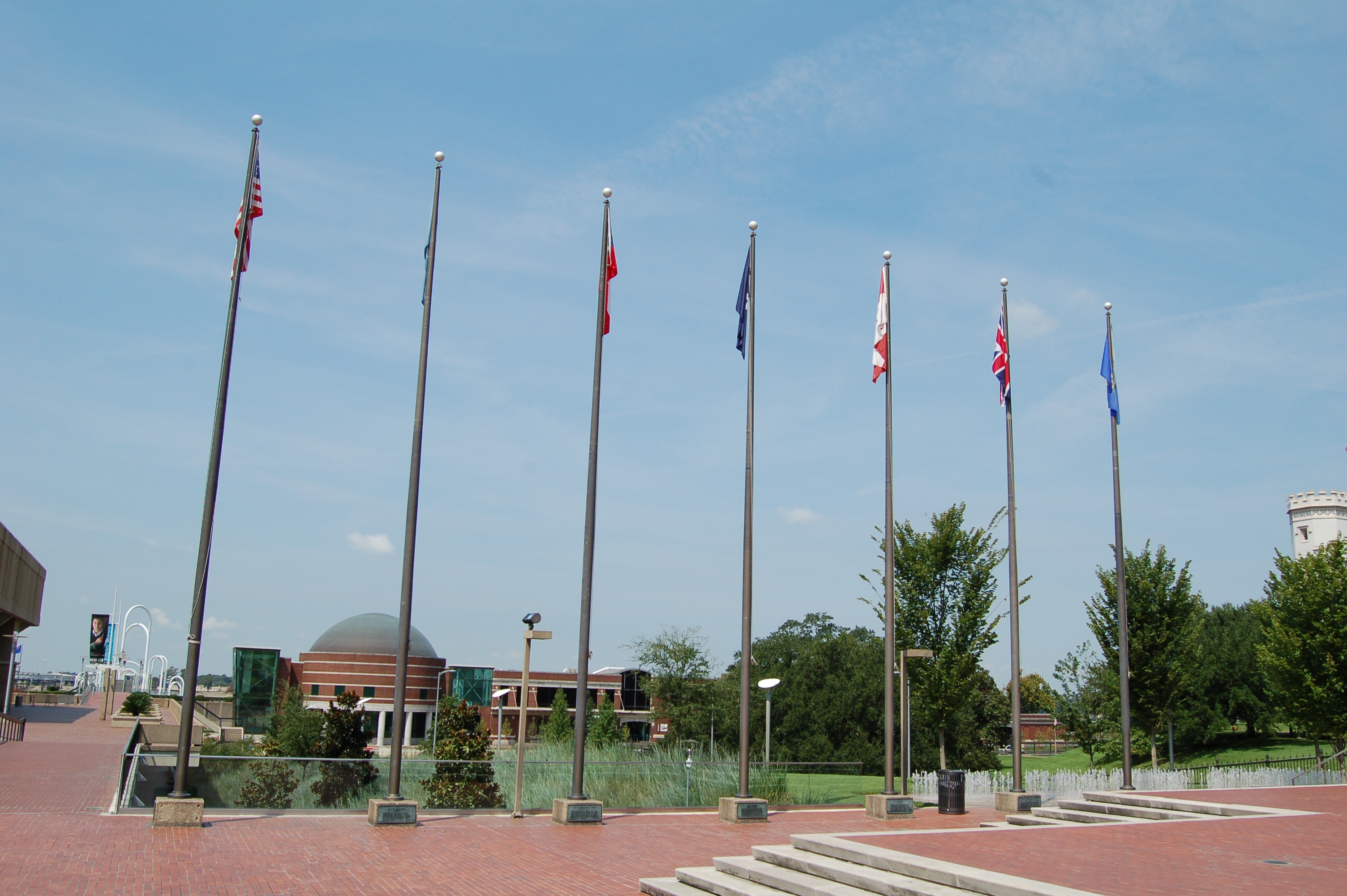 7 flags over Baton Rouge