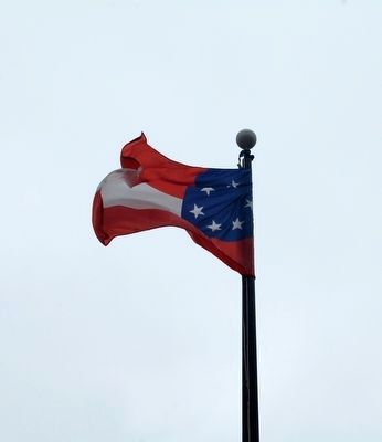 Flag of the Confederate States of America image. Click for full size.