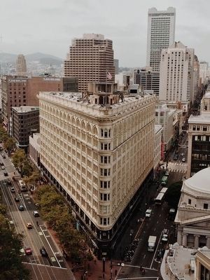 A view of the Phelan Building in San Francisco from the Central Tower image. Click for full size.
