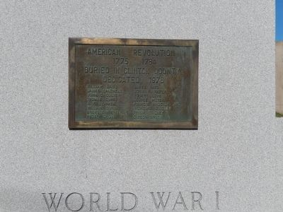 Clinton County Veterans Memorial Marker image. Click for full size.