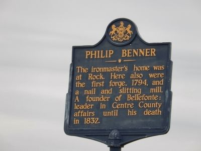 Philip Benner Marker image. Click for full size.
