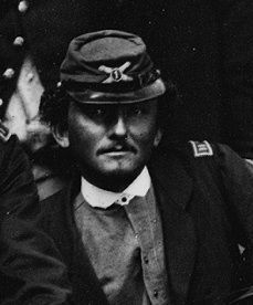 Capt. William M. Graham, Jr. (1834-1916)<br>Commander 1st U.S. Artillery<br>Battery K image. Click for full size.