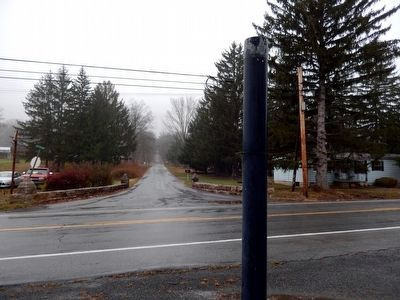 Phillips' Rangers Marker Pole-facing Capt Phillips Memorial Drive image. Click for full size.