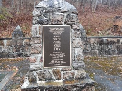 Capt. Phillips' Rangers Memorial Marker image. Click for full size.