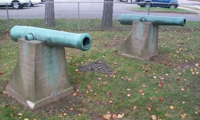 Civil War Memorial Cannon Tubes image. Click for full size.