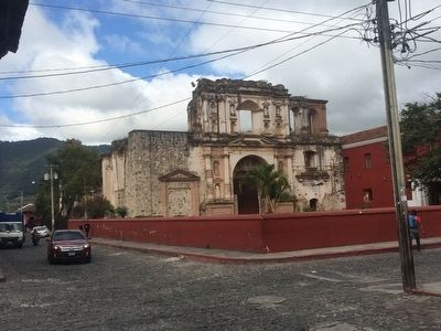 Previous location of the House of Bernal Díaz del Castillo Marker image. Click for full size.