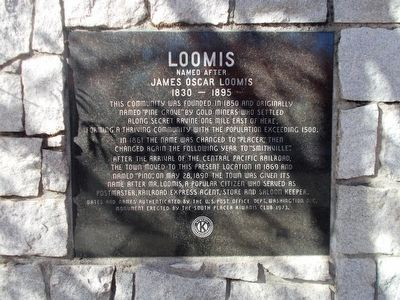 Loomis Marker image. Click for full size.