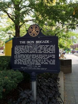 The Iron Brigade Marker image. Click for full size.