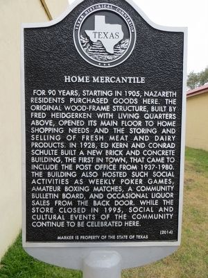 Home Mercantile Marker image. Click for full size.