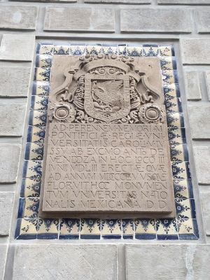 The Royal and Pontifical University of Mexico Marker image. Click for full size.