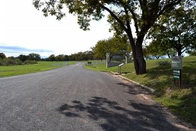 East Entrance to Lyndon B. Johnson National Historical Park image. Click for full size.