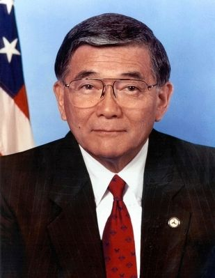 Norman Y. Mineta Marker image. Click for full size.