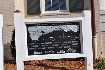 High Water Mark Community Marker Locations image. Click for full size.
