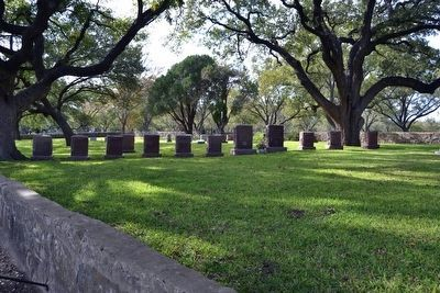 Headstones and Graves of the Johnson Family image. Click for full size.