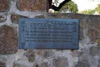 Elegy Tablet at Front Entrance of Cemetery image. Click for full size.