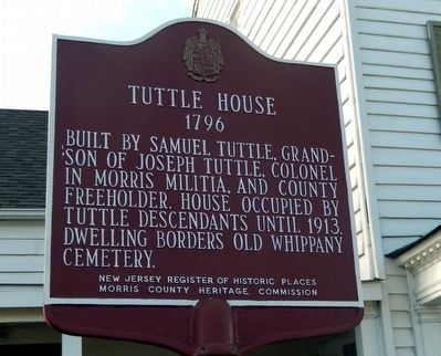 Tuttle House Marker image. Click for full size.