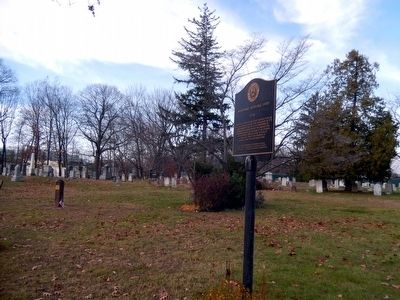 Whippany Burying Yard Marker image. Click for full size.