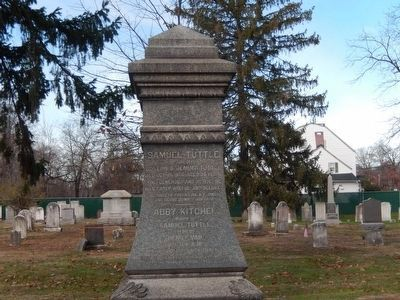 Whippany Burying Yard-Samuel Tuttle, Died Oct 19, 1800 image. Click for full size.