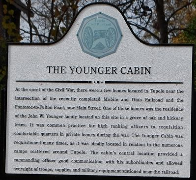The Younger Cabin Marker image. Click for full size.