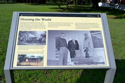 Housing the World Marker image. Click for full size.