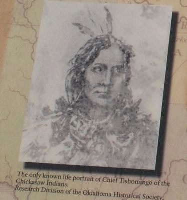 Chief Tishomingo image. Click for full size.