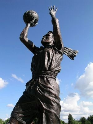Jackie Marie Stiles Statue Close Up image. Click for full size.