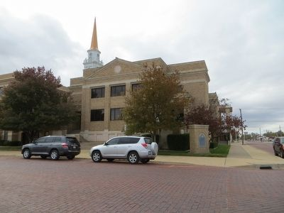 First Baptist Church of Plainview image. Click for full size.