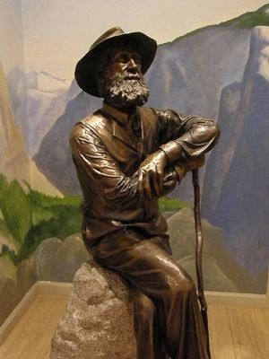 John Muir Statue at John Muir National Historic Site image. Click for full size.