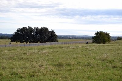 LBJ Ranch Airplane Runway image. Click for full size.