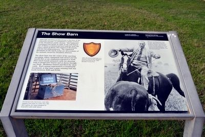 The Show Barn Marker image. Click for full size.