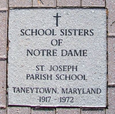 """Steps of the Sisters"" School Sisters of Notre Dame Marker image. Click for full size."