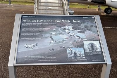 Aviation: Key to the Texas White House Marker image. Click for full size.