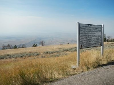 Big Horn Basin Marker image. Click for full size.