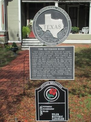 The Patterson House Marker image. Click for full size.