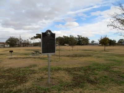 Hackberry Groves Marker image. Click for full size.
