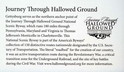 Gettysburg Seminary Marker<br>Journey Through Hallowed Ground image. Click for full size.