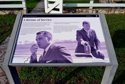 Lifetime of Service Marker image. Click for full size.