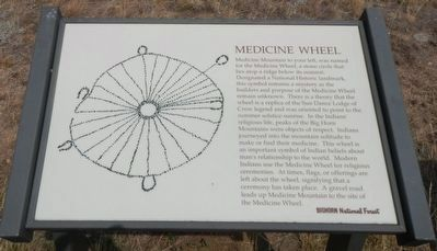 Medicine Wheel Marker image. Click for full size.
