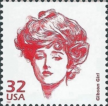 <i>Gibson Girl</i> image. Click for full size.