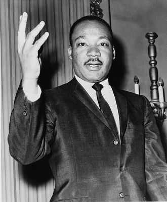 Martin Luther King, Jr. image. Click for full size.