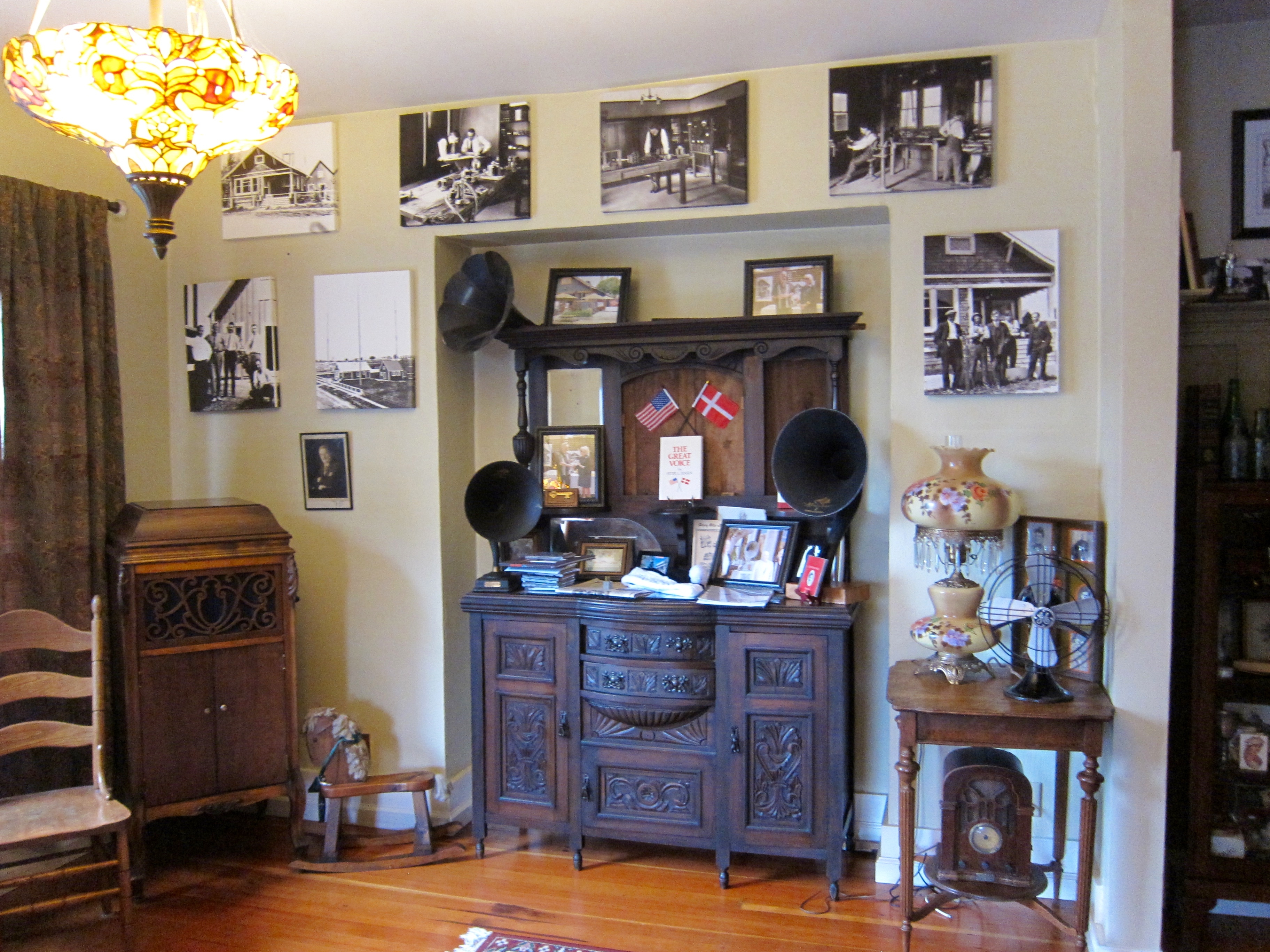 1606 F Street - Birthplace of the Loudspeaker and the Magnavox Corp. - Interior