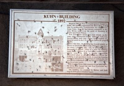 Kuhn Building Marker image. Click for full size.