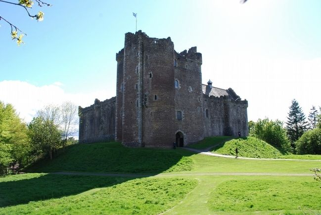 Doune Castle image. Click for full size.